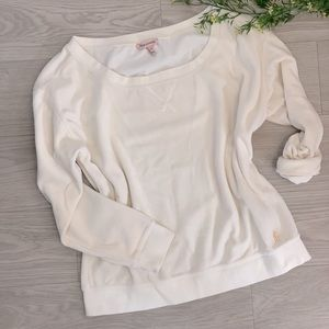 VERY SOFT JUICY COUTURE LONG SLEEVE TOP   ROUND